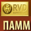 Обзор управляющих (памм счетов) RVD Markets